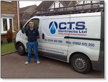 CTS Contracts Ltd Director Steve Mitchell